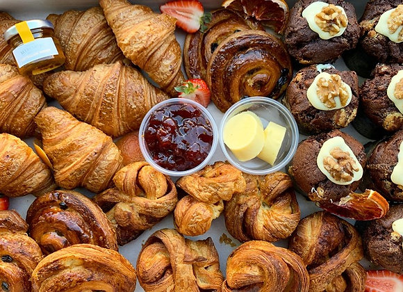 Mini Hand Made Pastries & Condiments