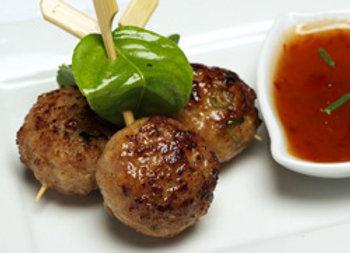 Thai chicken ball