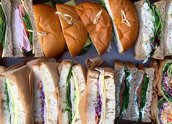 Mixed Bread Sandwich Collection