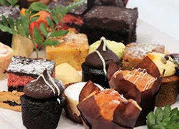 Assorted sweet platter