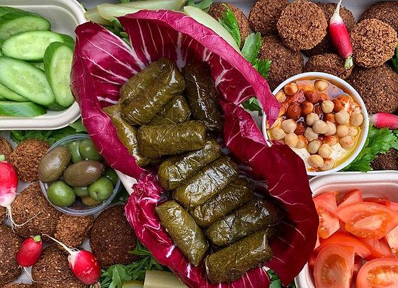 Falafel & Vine Leaves Platter (GF) (VEGAN)