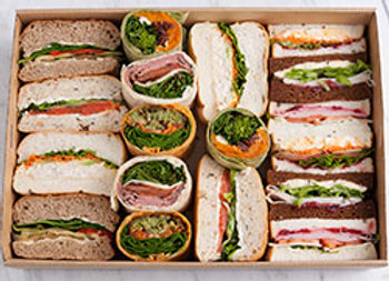 Gourmet sandwiches/rolls/wraps