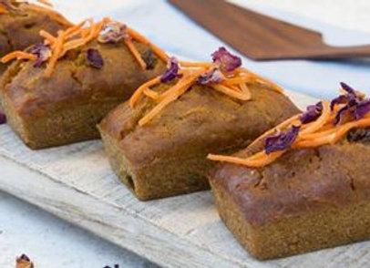 Gluten Free Carrot Cake With Raisins And Walnuts Gf