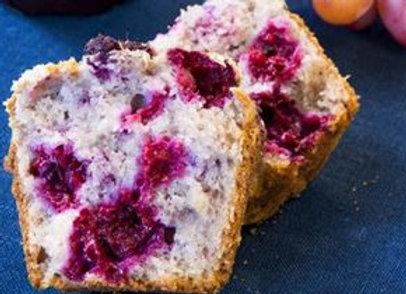 House Baked Muffins - Raspberry & White Chocolate / Lemon & Blueberry / Banana A