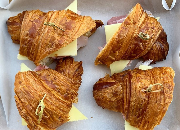Ham & Cheese Croissant Bites
