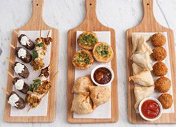 Hot finger food platter