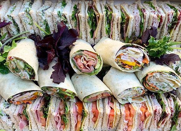 Classic Triangle Sandwiches & Wraps