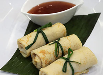 Peking duck crepes - mini