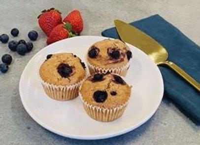 Gluten Free Blueberry & Lemon Muffin GF / FF / VGN