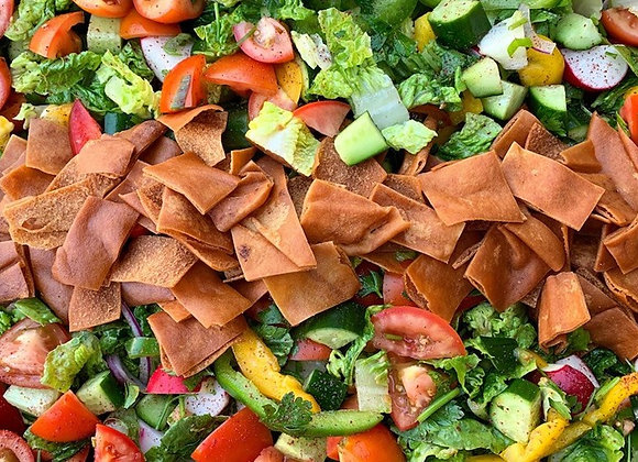 Fattoush Salad (VEGAN)