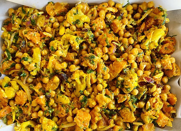 Superfood Cauliflower & Almond Salad (VEGAN)