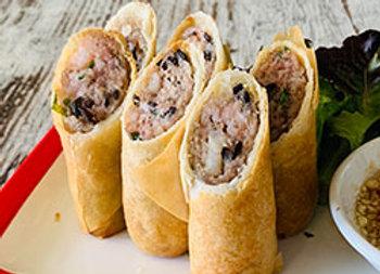 Pork and prawn rolls