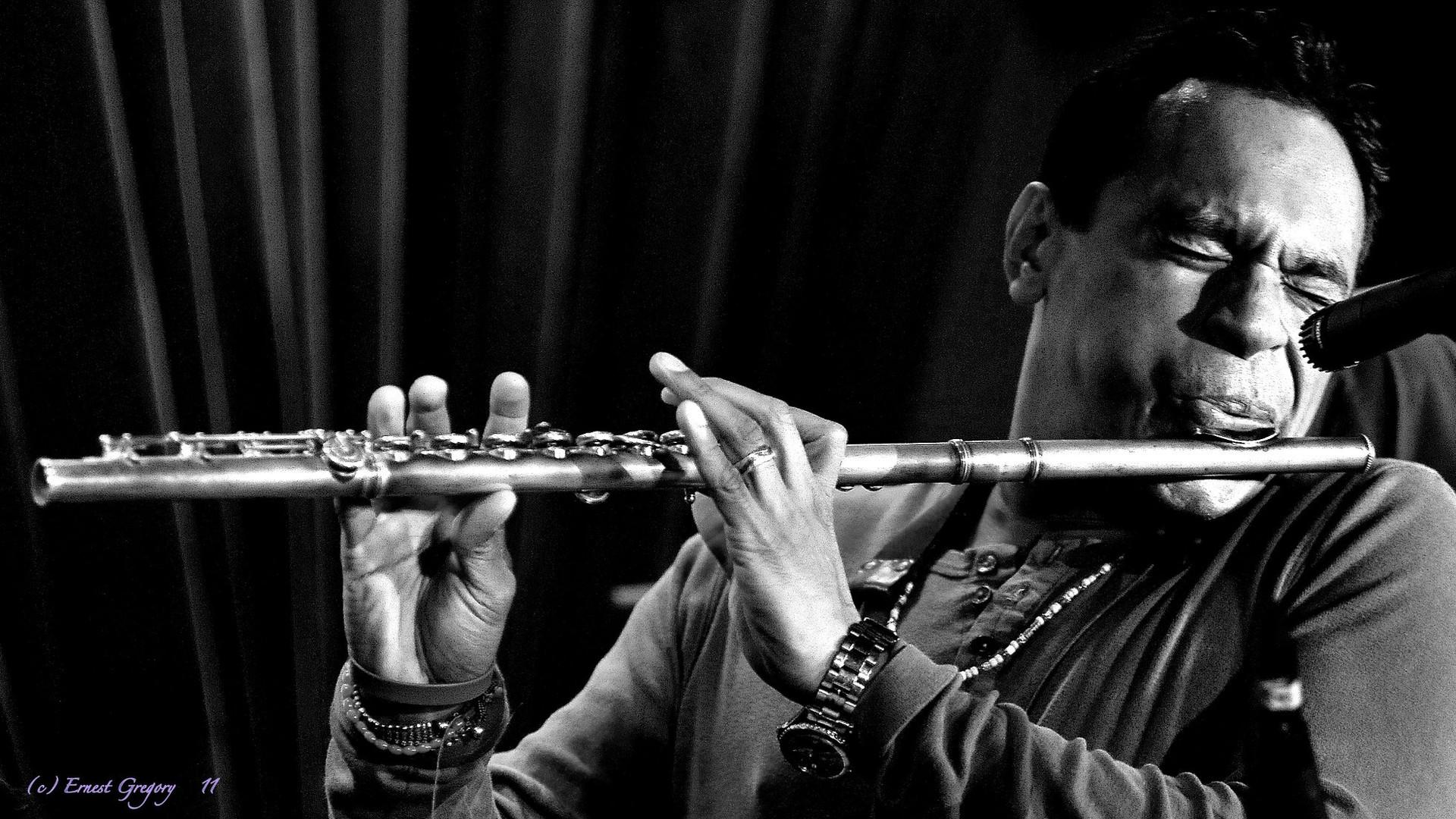 Jay Rodriguez on flute