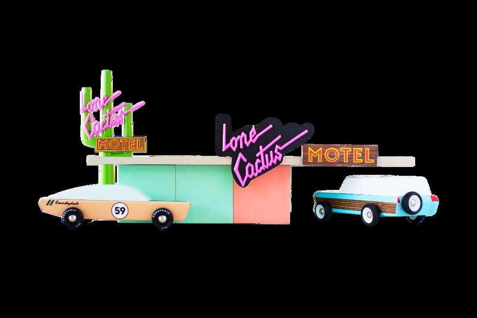 CandyLab Toys   Lone Cactus Motel Blocks
