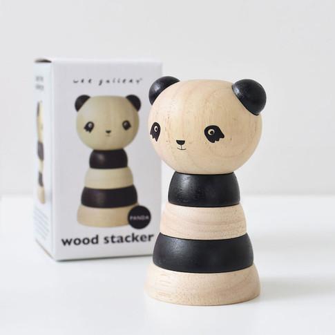 Wee Gallery   Panda stacker