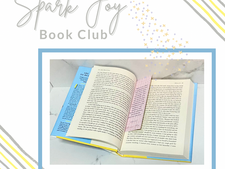 Changing the Date: The Spark Joy Book Club Meets Sunday Nights Live, 8pm Eastern on Instagram