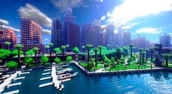Budapest 2050 Minecraft-ban