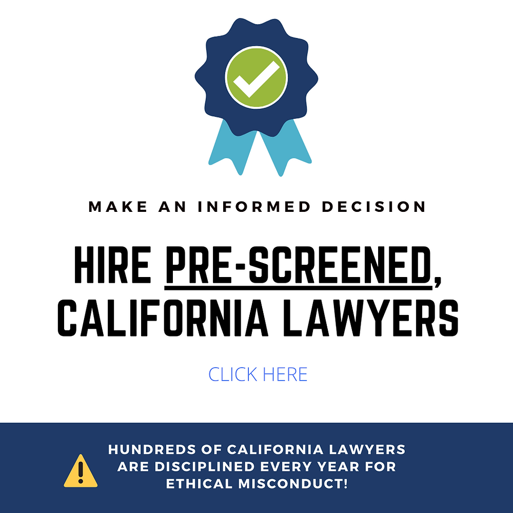 california pro bono lawyers