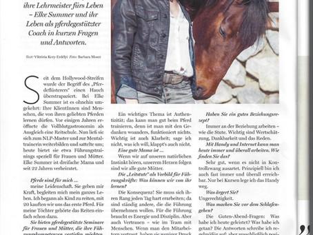"""""""Die Niederösterreicherin"""" schreibt über das Gestüt Haspelwald"""