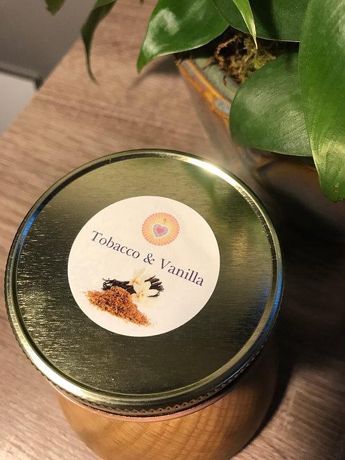 Tobacco & Vanilla 4oz. Mini Candle