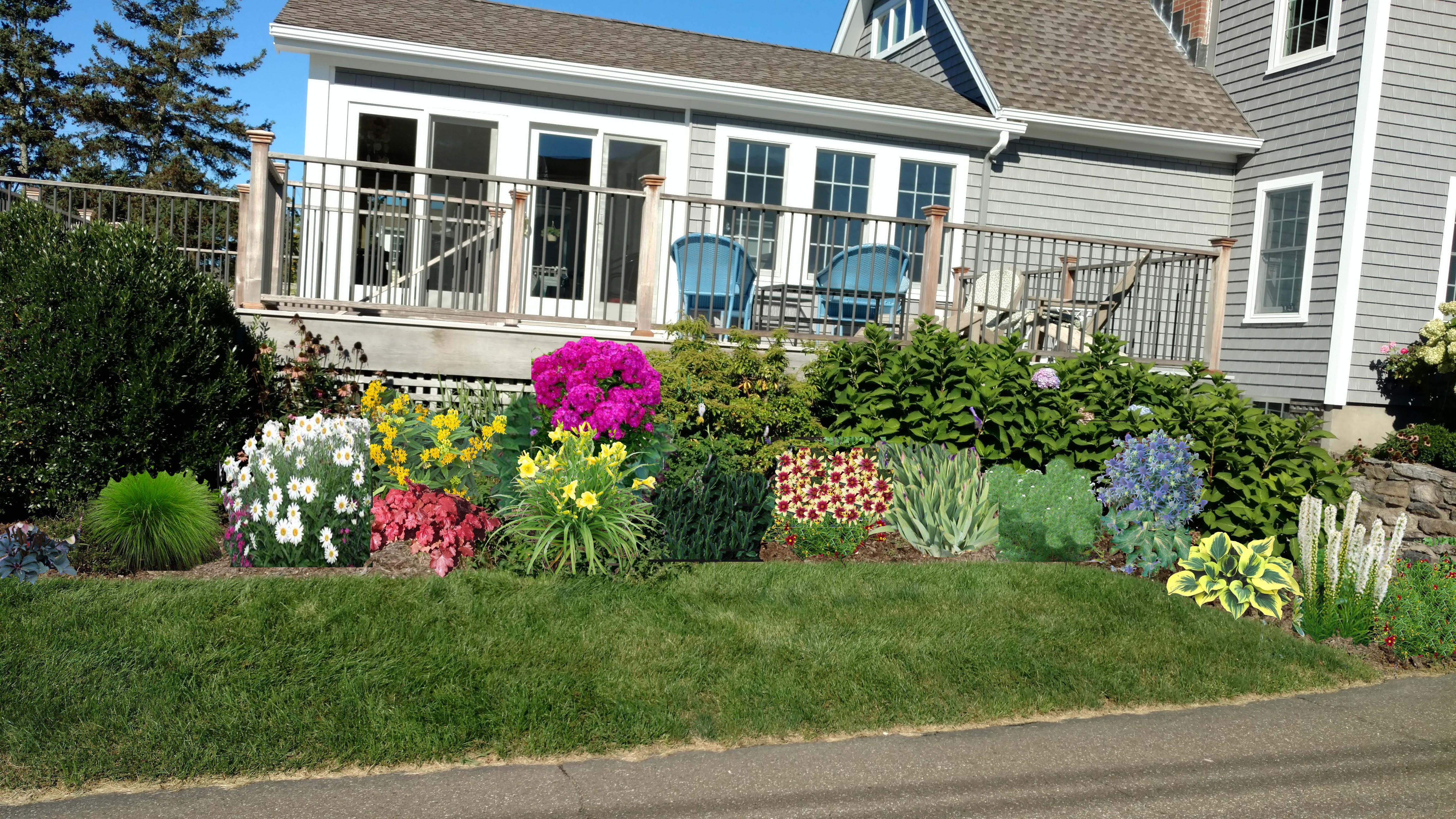 Cottage Side Summer