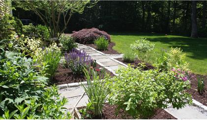 Inviting Garden Pathway
