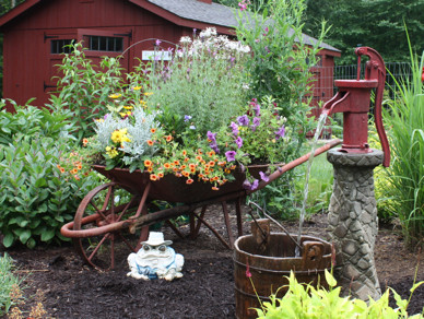 Incorporate personal touches that give meaning to your garden