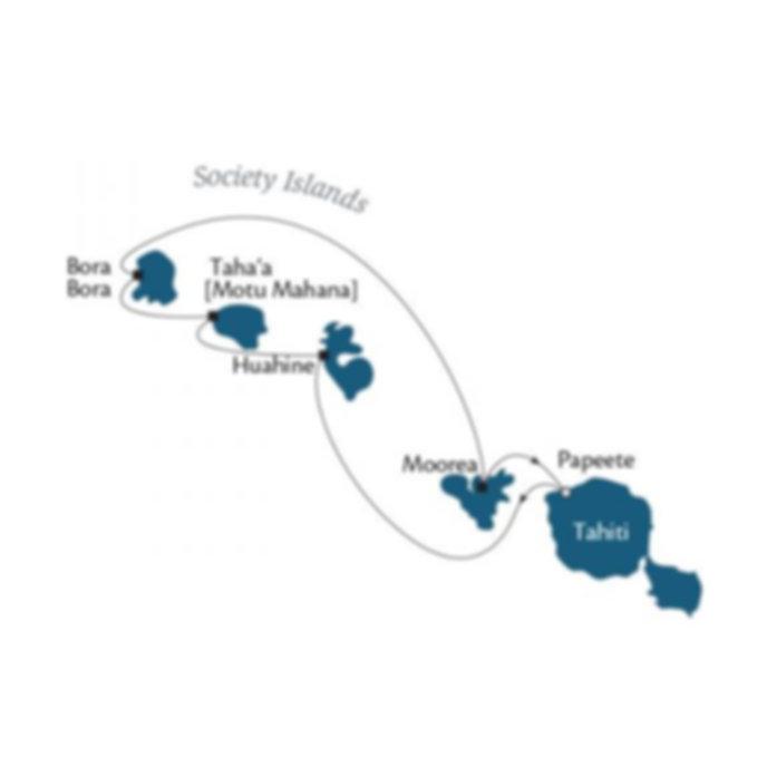 Tahiti Windstar Cruises 2015 Bora Bora Papeete