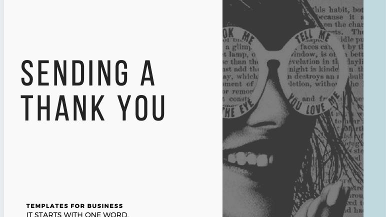 Send a Thank You