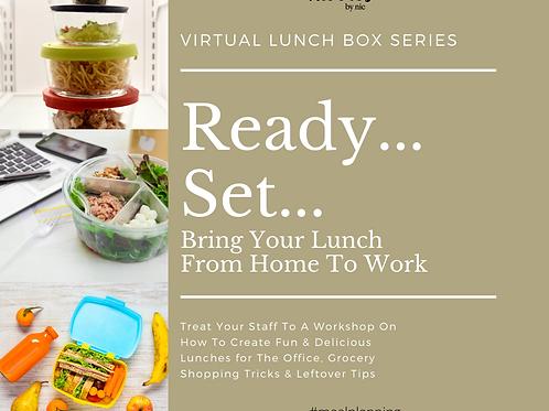 Lunch Box Series Virtual Workshops