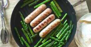 3-Ingredient Chicken Sausage Skillet