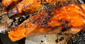 Restaurant Style Seared Salmon For The Office