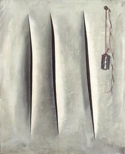 "CADIOU ""Transcendance spatiale"" 1960"