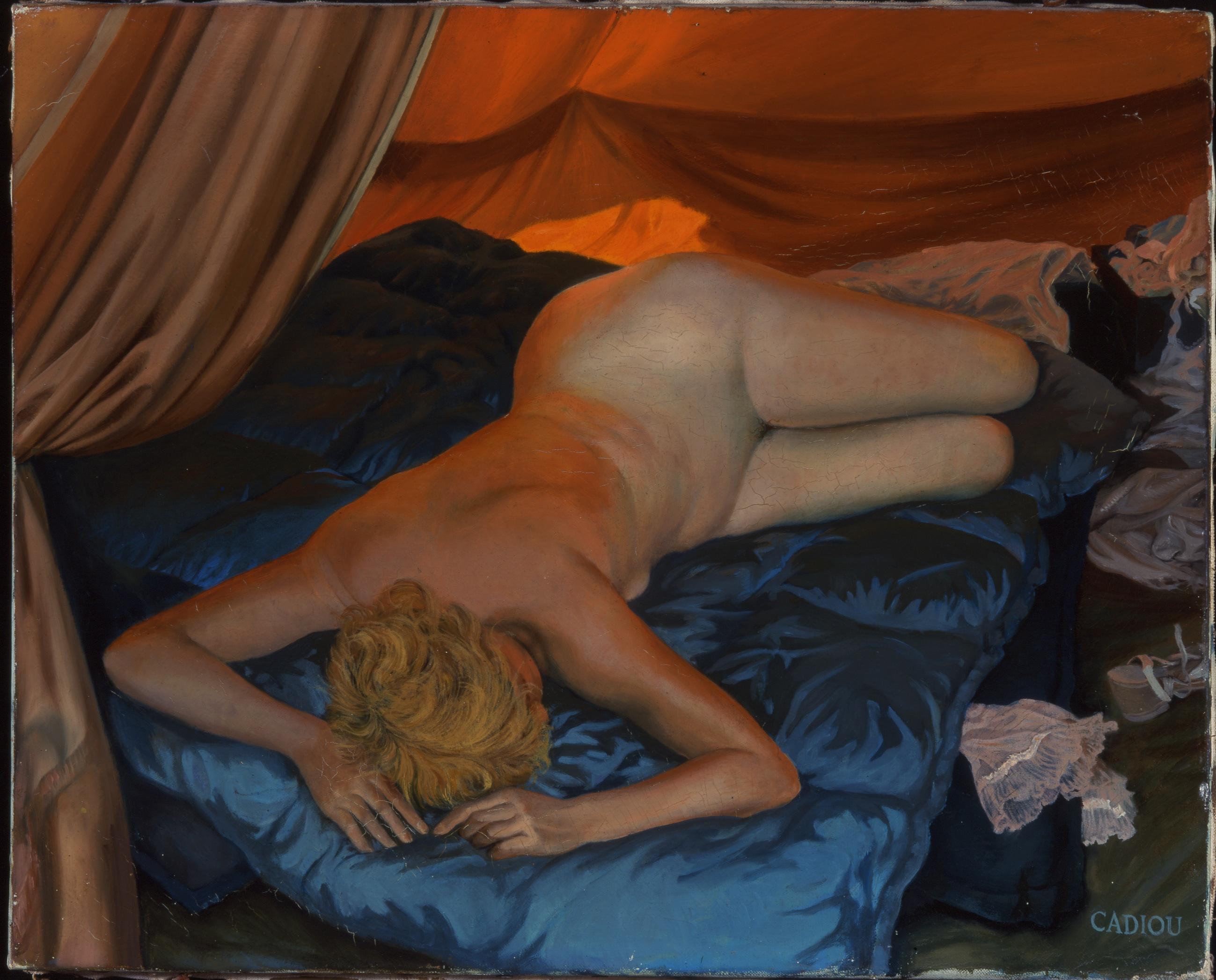 Femme sous la tente 1961