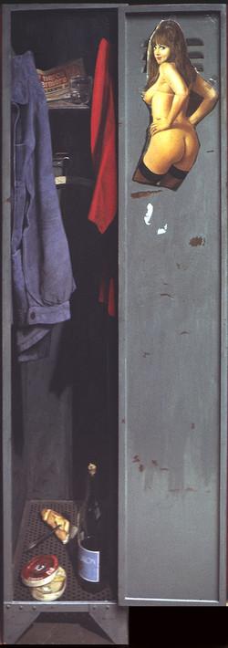 "CADIOU ""Vestiaire d'usine"" 1970"