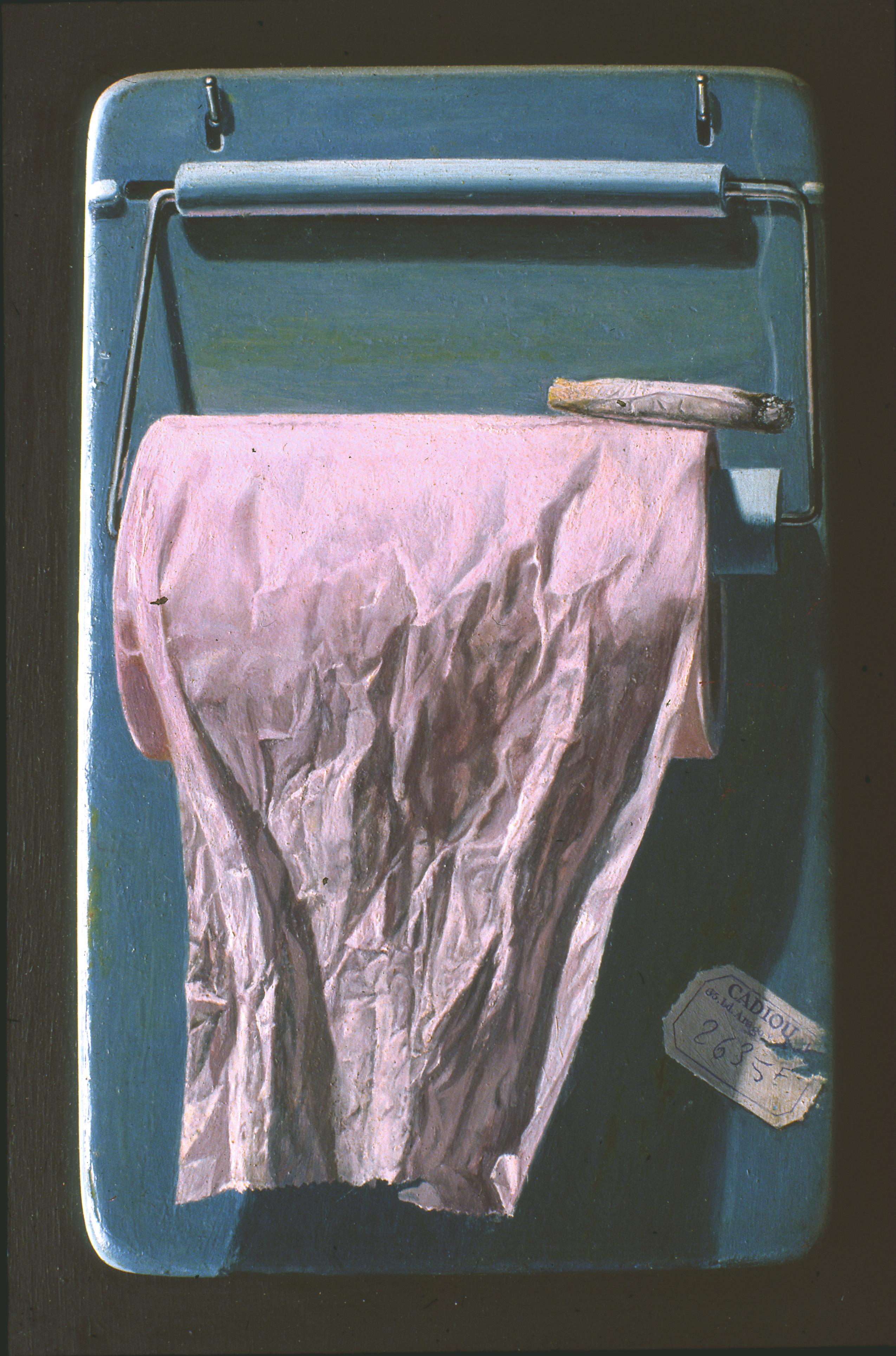 """CADIOU """"Le mégot"""" 1971"""