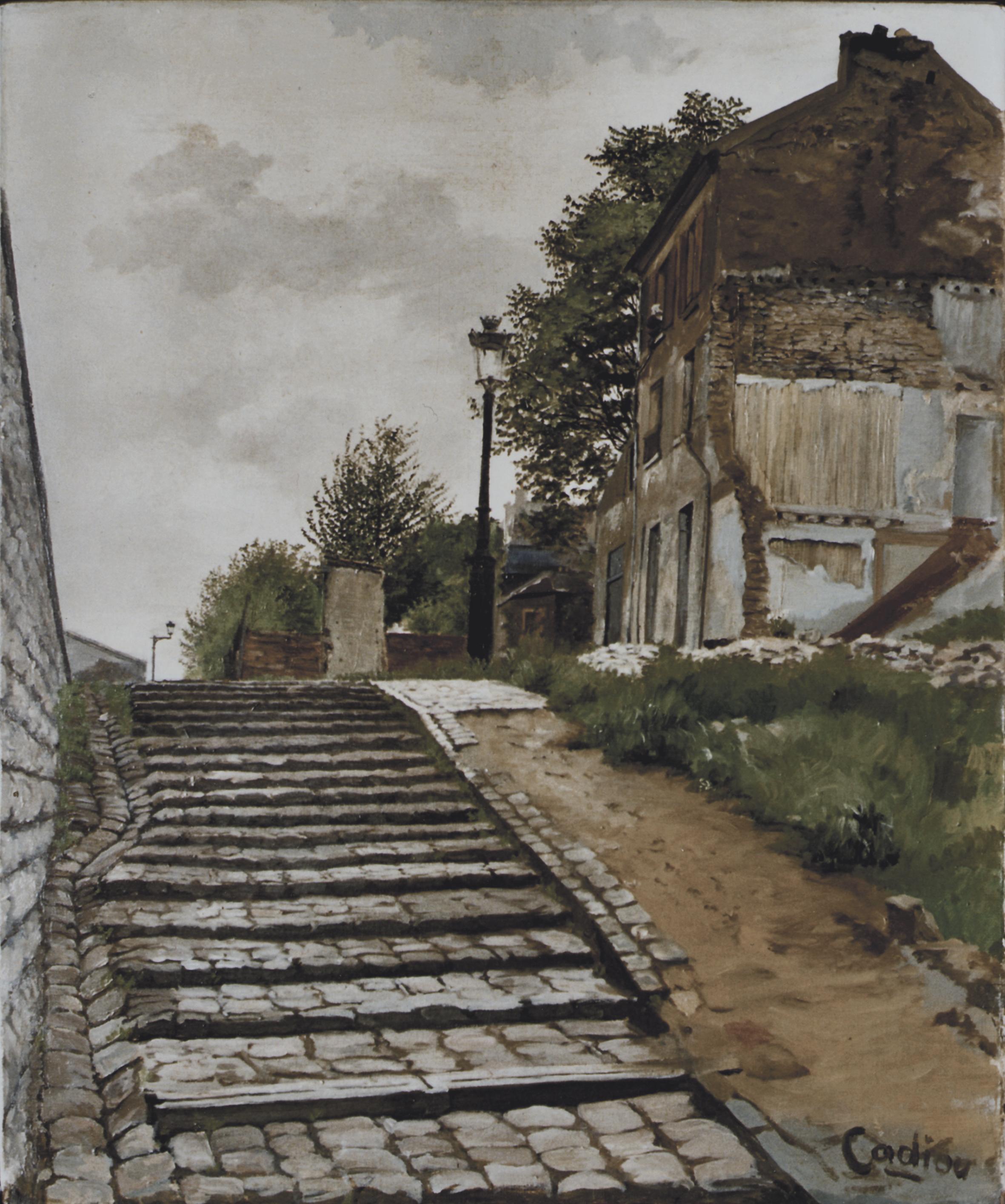 Escalier porte de Vitry
