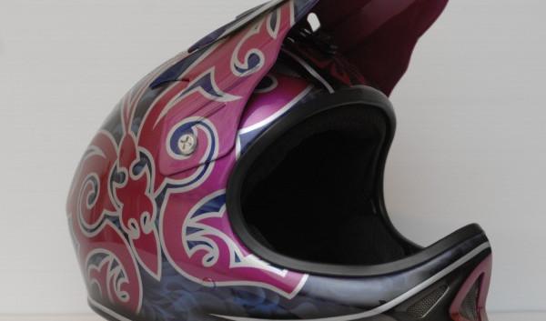 butterfly helmet