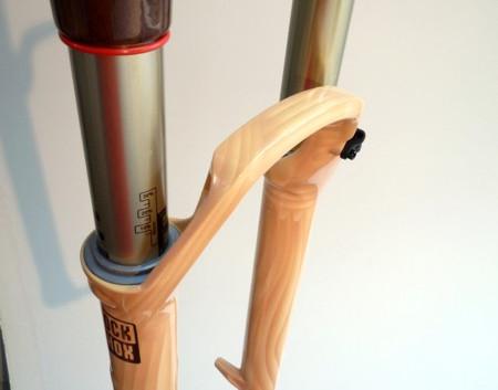 wooden rockshox