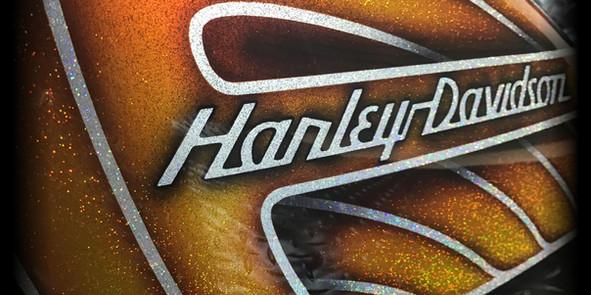 Harley tank
