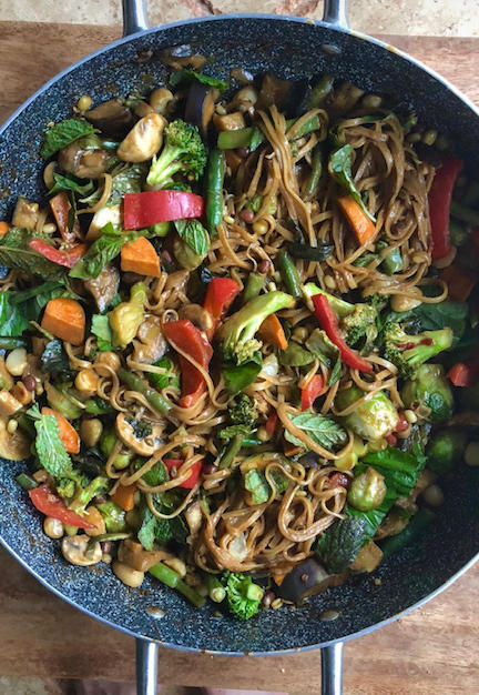 Miso Veggie Ghee Noodles