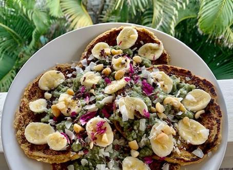 Nourishing Mung Dahl Banana Pancakes