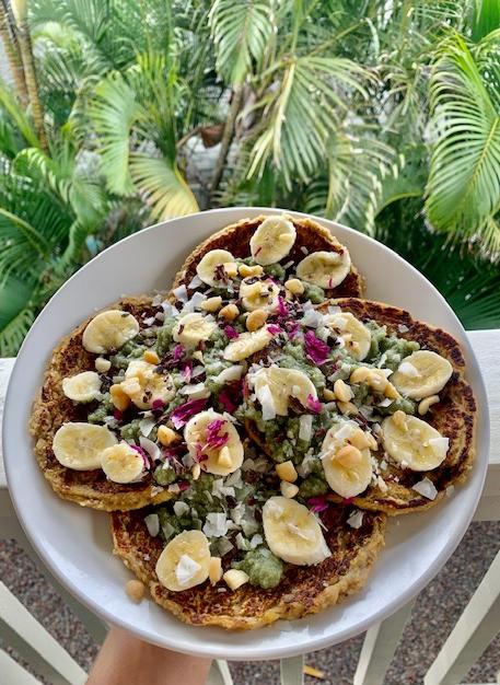 Mung Dahl Banana Pancakes