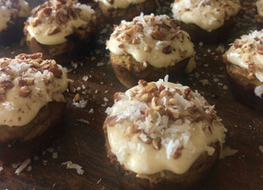 Ghee Infused Pumpkin Spiced Carrot Muffins