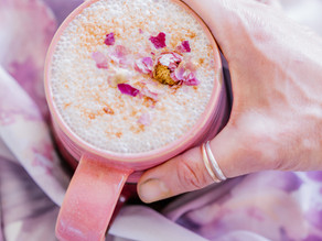 Digestion Boosting Spicy Rose Lassi