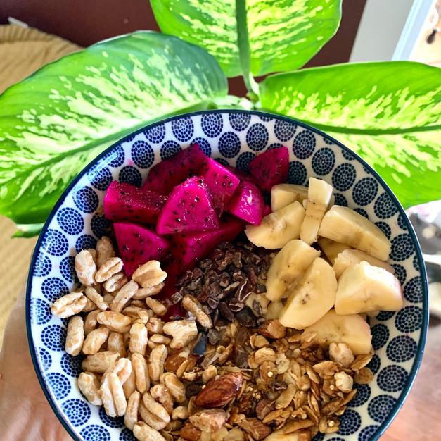Granola Fruit Bowl