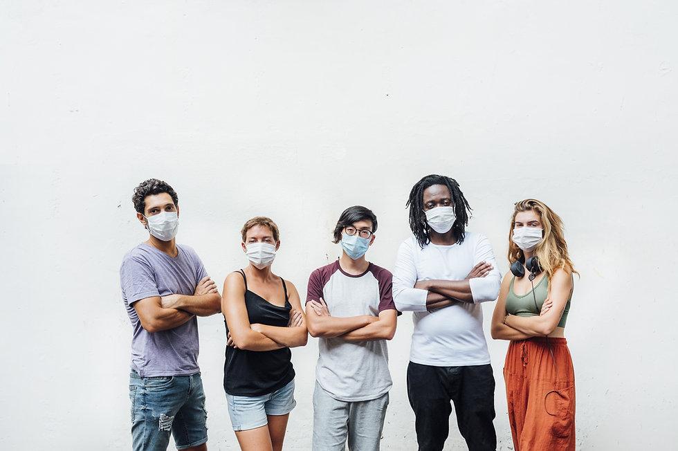 friends masks cross arms.jpeg
