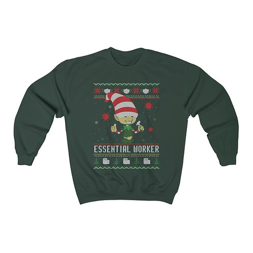 Essential Worker - Ugly Christmas Sweater
