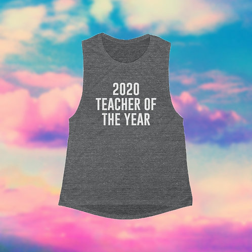 2020 Teacher of the Year - Women's Tank