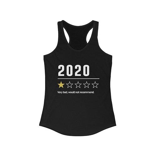 2020. One Star. - Women's Tank